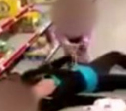 2-Year-Old Caught on Video Crying as She Tries to Wake Up Overdosed Mom at Store