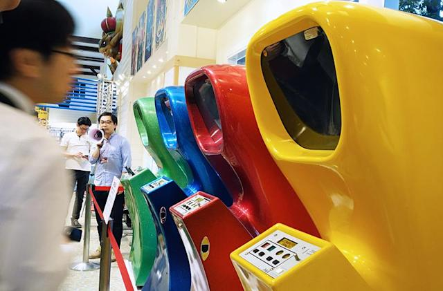The world's first video game arcade machine is a glittery fiberglass wonder