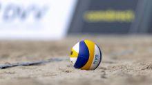 Unwetter bremst Beachvolleyball-EM