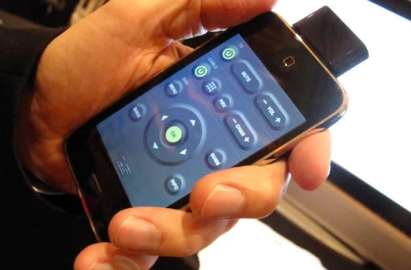 L5 iPhone IR dongle / remote software hands-on