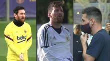 Messi anuncia que fica no Barcelona para evitar ir à justiça