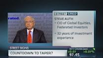Data improving; When will the Fed taper?