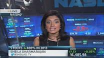 Russell stocks up 400 percent in 2013
