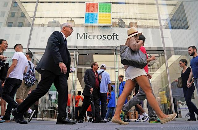 Microsoft's 'record' quarter driven by big growth in Azure and gaming