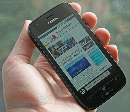 Nokia Lumia 710 for T-Mobile review