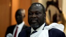 South Sudan's president and rebel leader meet for peace talks