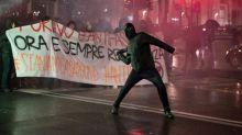 Enfrentamientos y violencia enturbian la campaña electoral en Italia