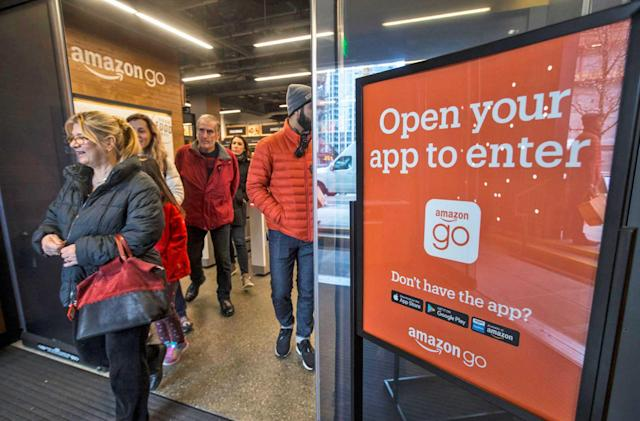 Amazon opens its next cashier-less store in Chicago