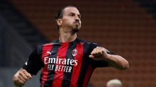 Milan striker Zlatan Ibrahimovic tests positive for virus