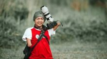 Este fotógrafo que nació sin manos hace unas fotos espectaculares