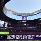 Government shutdown could impact the super bowl