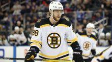 Bruins winger David Pastrnak eyes Saturday return