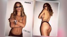 Rita Ora: Nackte Tatsachen zum Jahreswechsel