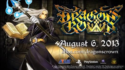 Dragon's Crown Wizard and Amazon trailers feature thunderbolts, lightning