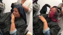 Surprise hair color is the latest gender-reveal trend