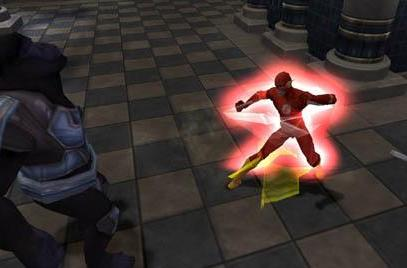 Justice League Heroes gameplay screens fly onto PSP