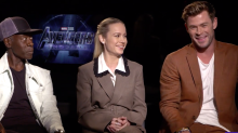 Shipping Captain Marvel, Thor and Valkyrie: Brie Larson and Chris Hemsworth debate the best couple