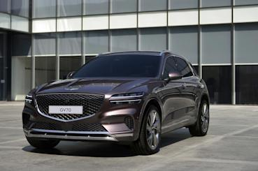 Genesis GV70揭開令人驚豔的內外觀設計