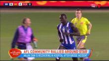 AFL Community rallies around star