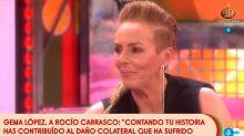 Rocío Carrasco jugó con fuego y se quemó