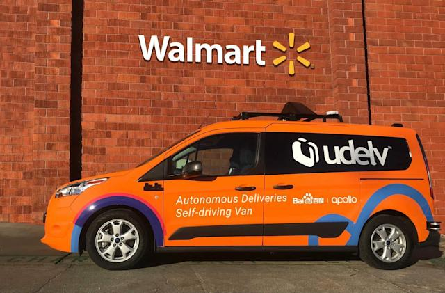 Walmart will offer autonomous grocery deliveries in Arizona