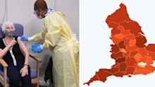 Revealed: Map shows major local variation in COVID vaccination rates