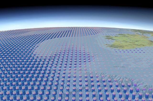 Detailed 3D ocean map can help with marine conservation
