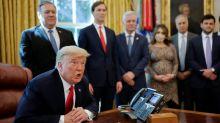 Trump, Mnuchin say Pelosi must compromise to reach COVID-19 deal