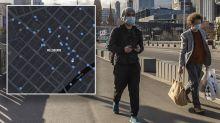 Melbourne's pedestrian traffic down 90 per cent during coronavirus lockdown