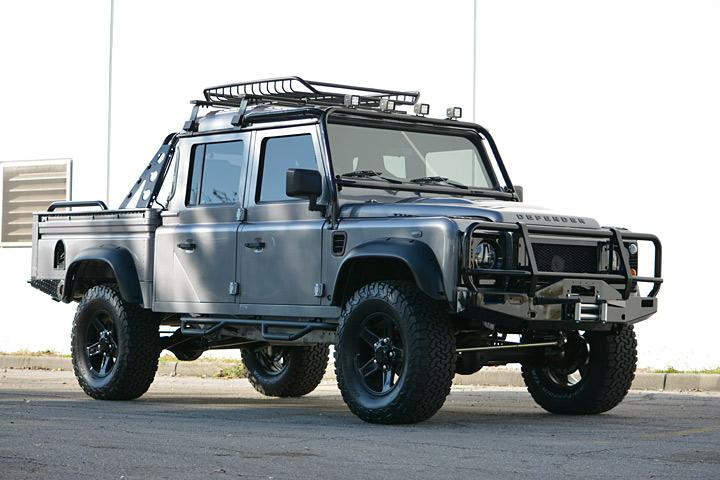 Project Spectre Makes Other Land Rover Defenders Look Tame