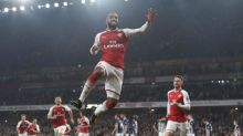 Alexandre Lacazette double earns Arsenal nervy win against West Brom