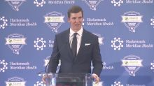 Eli Manning retires: 'I look forward to a little downtime'