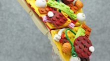 These Lego SculpturesLook Good Enough To Eat