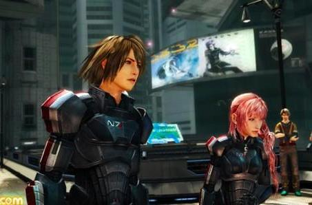 Final Fantasy XIII-2 offers Mass Effect costume DLC in Japan