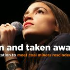 Alexandria Ocasio-Cortez's invitation to meet coal miners rescinded by GOP official