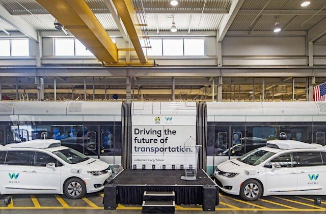 Waymo test will provide rides to and from public transportation