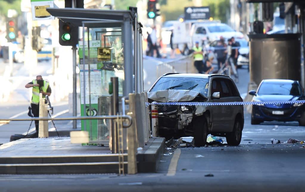 Saeed Noori allegedly drove his car through a busy downtown intersection on Thursday (AFP Photo/Mal Fairclough)