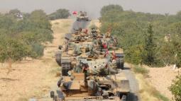 Turkey fires on U.S.-backed Kurdish militia in Syria offensive