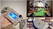 神級改裝!日本機迷改PS Classic變手提機
