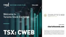 "Charlotte's Web Commences Trading on the Toronto Stock Exchange Under Stock Ticker ""CWEB"""