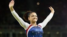 Laurie Hernandez, at first gymnastics meet in 4 1/2 years, is back because she loves it