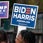 2020 polls – live: Biden and Trump almost tied in North Carolina as ex-VP leads in Michigan
