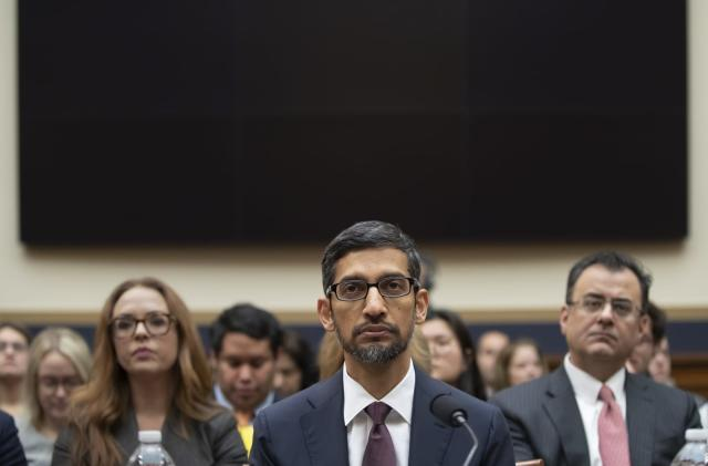 Congress grills Google CEO over Chinese search engine plans