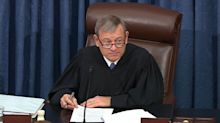 Chief Justice John Roberts drops 'pettifogging' bomb while reprimanding both sides in impeachment trial