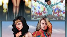 Michelle Obama, Serena Williams and Sandra Oh are all superheroes, according to this new comic-book-style celebration