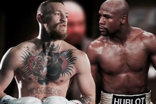 McGregor postou essa montagem em seu Instagram - Reprodução