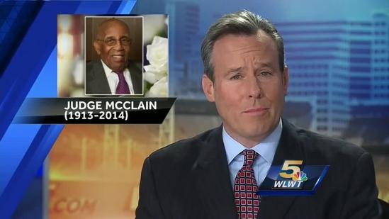 Services held for Judge William McClain