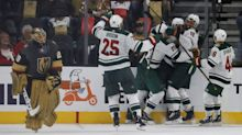 Wild beat Golden Knights again, take Game 1 in overtime