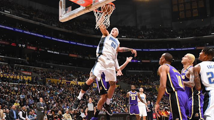 The Bounce - Aaron Gordon throws down two monster dunks as Magic hold off Lakers