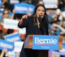 Ocasio-Cortez throws her support to Bernie Sanders